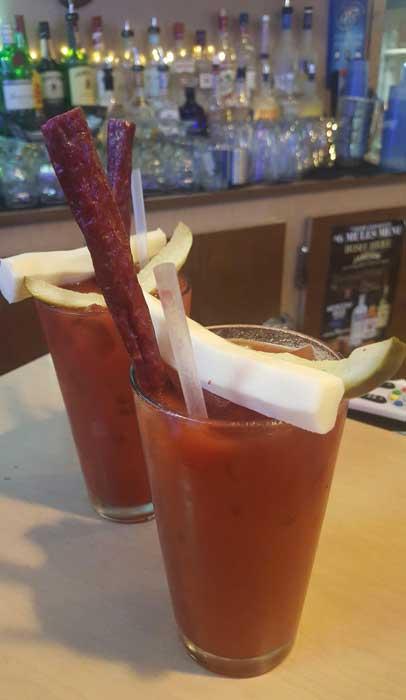 Bloody Marys at The Olde Cedar Inn