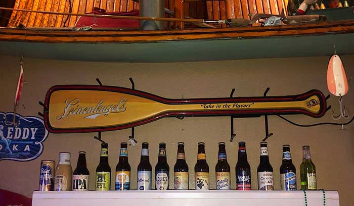 Enjoy our extensive beer collection