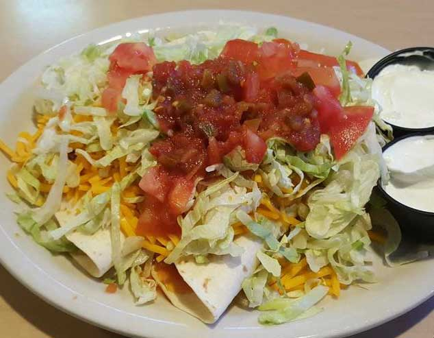Our taco salad is a favorite