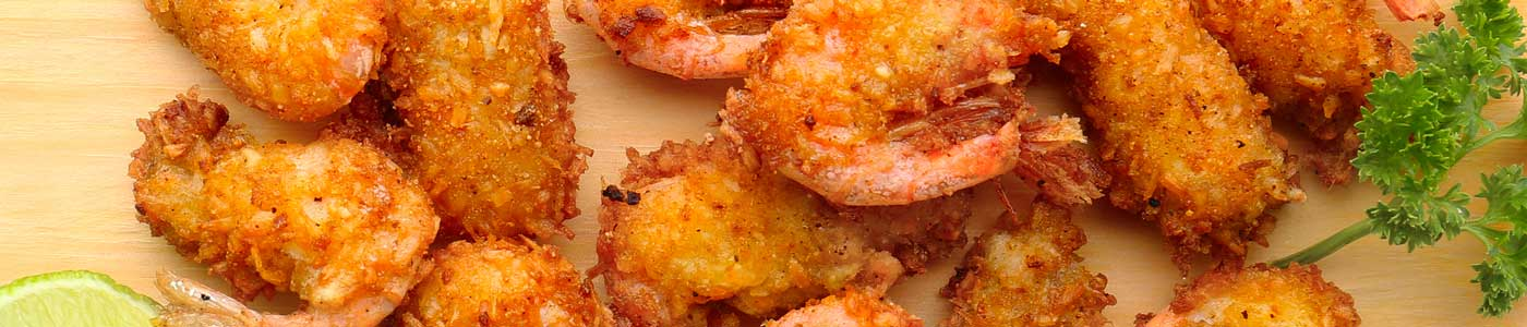 Breaded jumbo shrimp